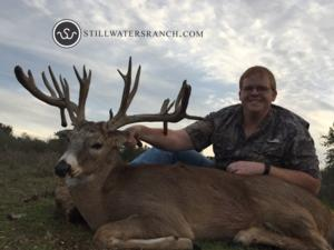 <p>Jason comes back not only for the biggest buck he's gotten, but currently, the largest buck we've ever killed at SW Ranch.</p>